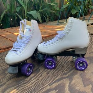 Riedell Skates W 8 . Like New.